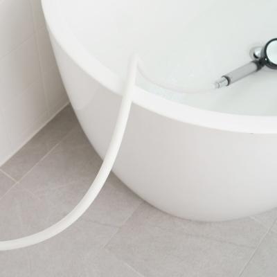 바스템 물때가 끼지않는 튜브형 샤워줄(크림,차콜)