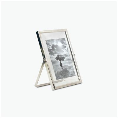탁상 메탈 프레임 사진 액자 - 실버 (silver) - 5x7
