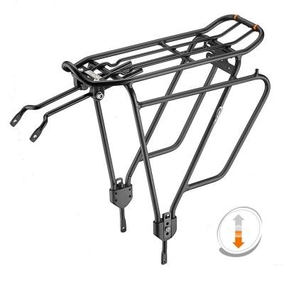 사이드포켓 확장형 원터치 자전거 짐받이와 가방