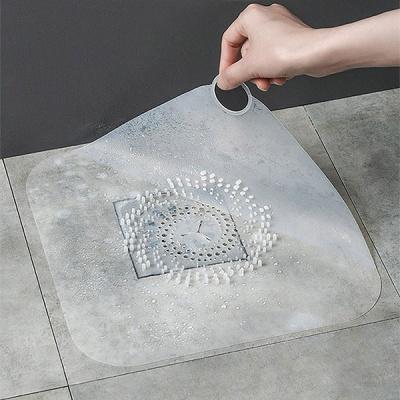 실리콘 대형 사각 배수구 거름망