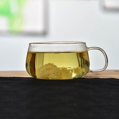 [로하티]라벤더 유리잔 250ml/내열유리 찻잔