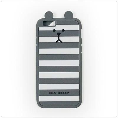 크래프트홀릭 Shell Cover for iPhone 6 (BORDER SLOTH)