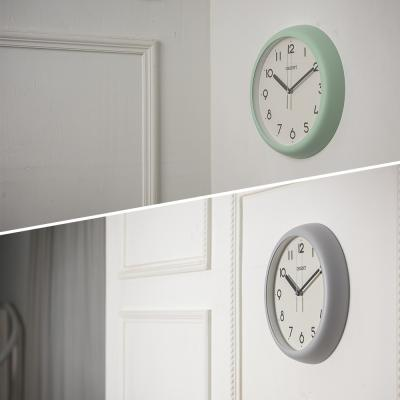 오리엔트 무소음 인테리어벽시계, 파스텔 2종 택 1