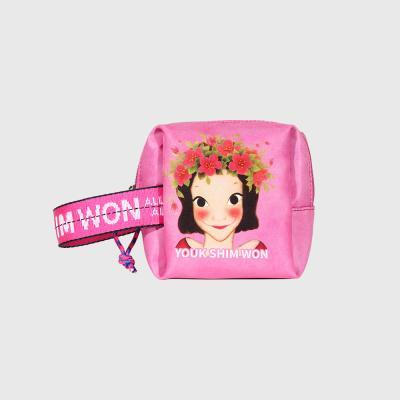 [육심원]볼륨파우치 소 핑크지아