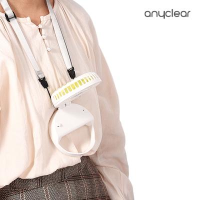 애니클리어 휴대용 넥밴드 팬 USB선풍기 PDB-MF55
