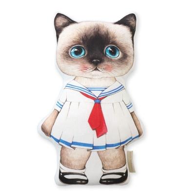 고양이삼촌 쿠션 - 세일러 클라우디