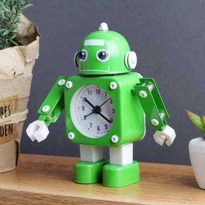 하이 로봇 알람 탁상시계