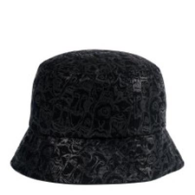 [디꾸보}빅사이즈 엔틱 패턴 벙거지 모자 ALL107