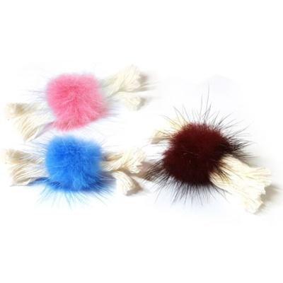 강아지 힐링타임 밍크 사탕 장난감 색상랜덤