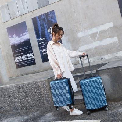 22호 캐리어 확장형 여행가방 A1403-22 (스카이블루)