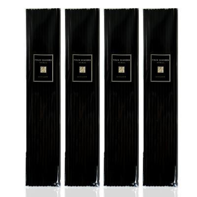 포시즌 디퓨저 섬유스틱 4mm 블랙 48개