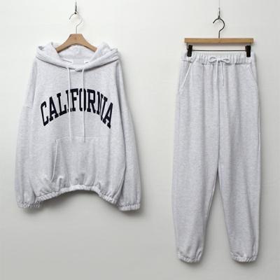 [Set] California Hood Sweatshirt + Jogger Pants