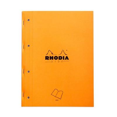 [로디아] 오렌지 메모패드 사이드북 (세이지)