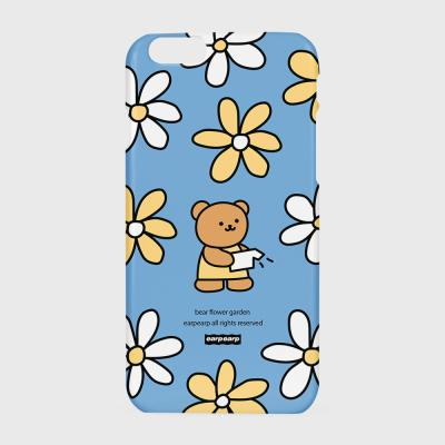 Bear flower garden-blue