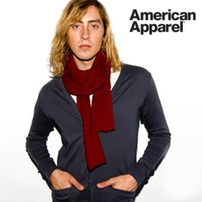 아메리칸어패럴 남녀공용 코튼 스카프 6color