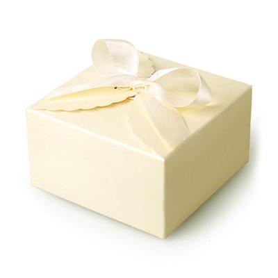 아이보리레이스 [리본포함] 상자 (2set)