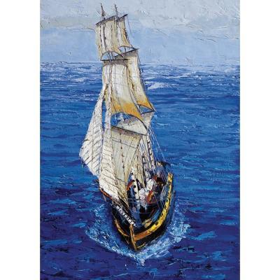 500피스 직소퍼즐 - 푸른 바다의 항해