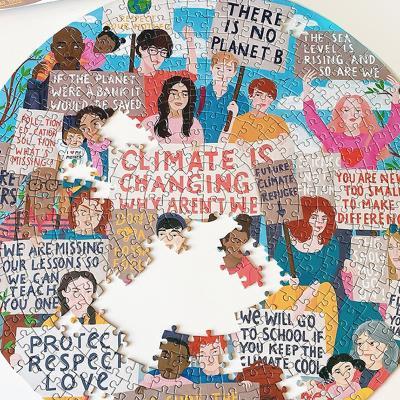 환경보호운동 500피스 라운드 퍼즐