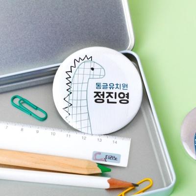[주문제작]캐릭터버튼쥬라기월드 33㎜