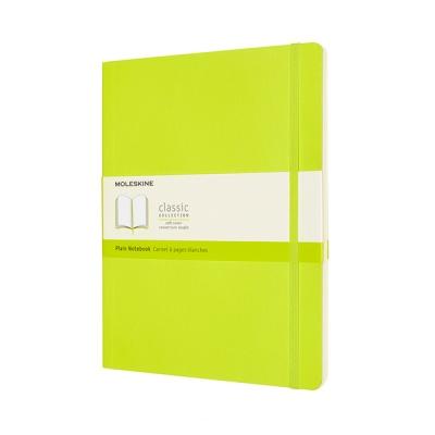 몰스킨 클래식노트-플레인/레몬 그린-소프트 XL