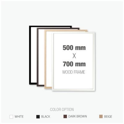 [우드프레임] 우드 액자 500X700