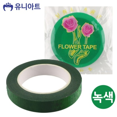 유니아트 1000 꽃테이프 (녹색)