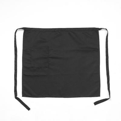 심플 포켓 허리 앞치마(블랙) 쉐프 허리랩앞치마