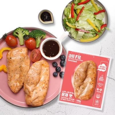 올핏 소프트 스팀 닭가슴살 훈제맛 30팩