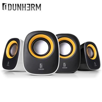 DUNHERM 스피커 DH-Z1 (2채널 / USB전원 / 스마트폰 & MP3등 3.5mm 오디오 단자 / 3D 입체음향기술)