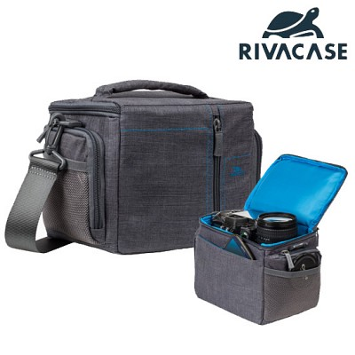 SLR 카메라 가방 RIVACASE 7502 (레인 커버 / 분리 가능한 패딩 칸막이)