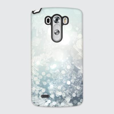 [듀얼케이스] Snow Crystal-A (LG)