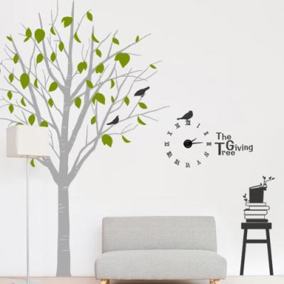 ib175-아낌없이주는나무_그래픽시계(중형)