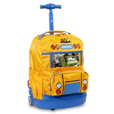 어린이캐리어 SCHOOL BUS KRB-003 소풍가방/키즈가방