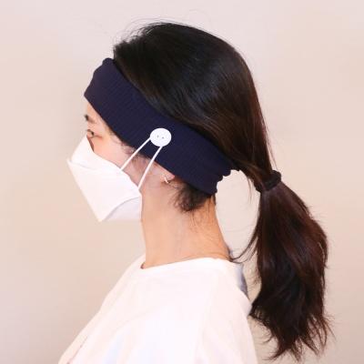 1+1 마스크 귀안아프게 헤어밴드 3color 갓샵 귀보호
