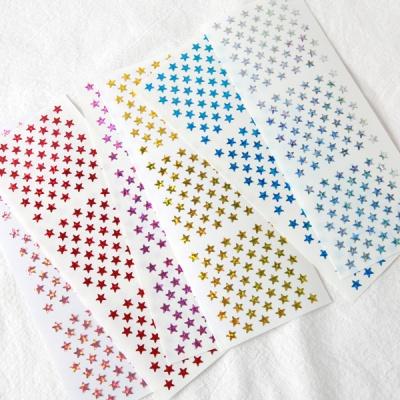 스티커펀 5mm 별 홀로그램 스티커(st125)