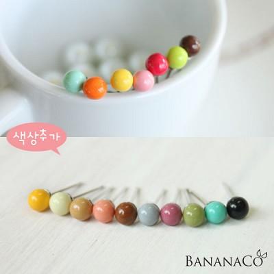 미니 콩 귀걸이(3쌍)
