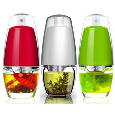 [프리파라] 오일스프레이 Set 3pcs-100% BPA Free 유리병 오일스프레이