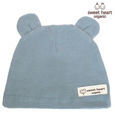 [스윗하트]오가닉 블루베어 모자