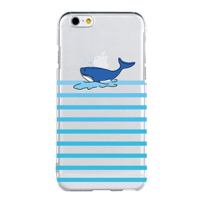 Stripe Whale For Clearcase(아이폰케이스)