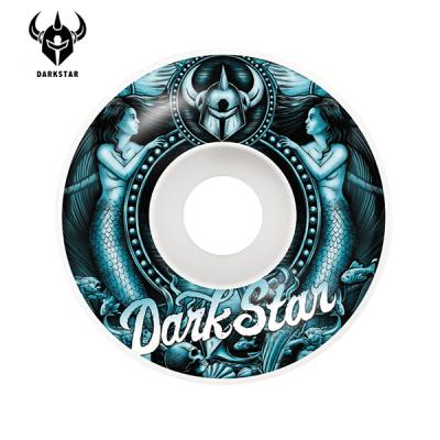 [DARKSTAR] MERMAID AQUA/WHITE MS 99A WHEELS 53