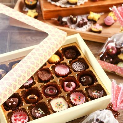 초콜릿 만들기 세트 (20구) - 핑크 사각