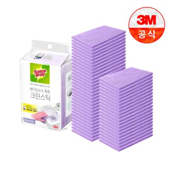 [3M]크린스틱 시트타입 욕실청소 10입 5개