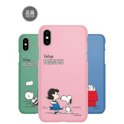 정품 스누피 심플 스마트폰 하드케이스