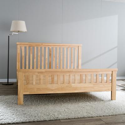 에르모 원목 네추럴 퀸 침대 Q