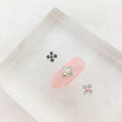 Woman bonita nailparts 큐빅 미니플라워 1개 3color