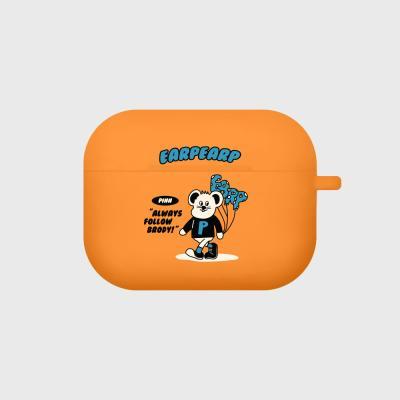 Always follow pinn-orange(Air pods pro case)