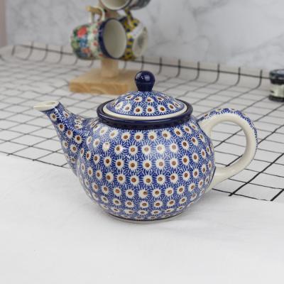 폴란드그릇 아티스티나 티포트티팟주전자 패턴55