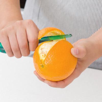 도블레 오렌지 필러 칼 과일 껍질까기