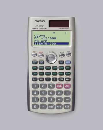 카시오 재무용 계산기 FC-200V