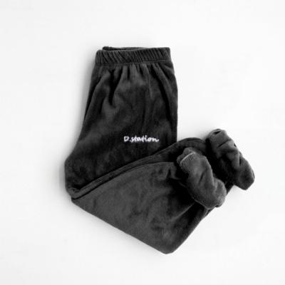 소프트 극세사 잠옷바지(블랙)